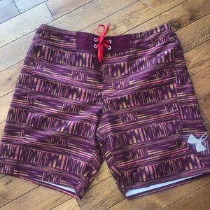 Men's under Armour heat gear swim shorts